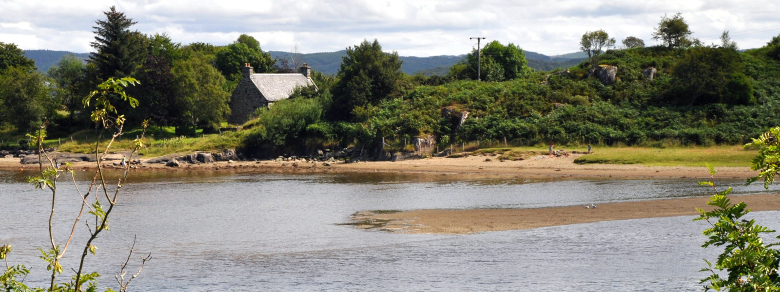 Crinan House Beach